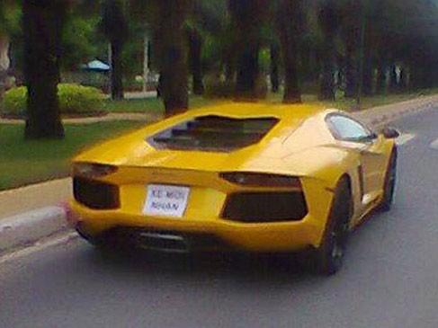 Lamborghini Aventador đầu tiên đã về Việt Nam