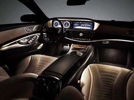 'Ngó' nội thất siêu sang của Mercedes S-Class 2014