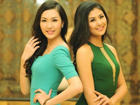 Ngọc Hân và Thùy Trang xinh hơn mỗi ngày