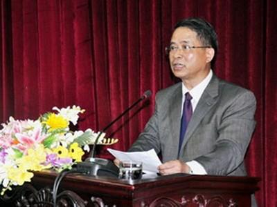 Ông Hà Văn Khoát, tân Bí thư Tỉnh ủy Bắc Kạn. (Nguồn: baobackan.org.vn)