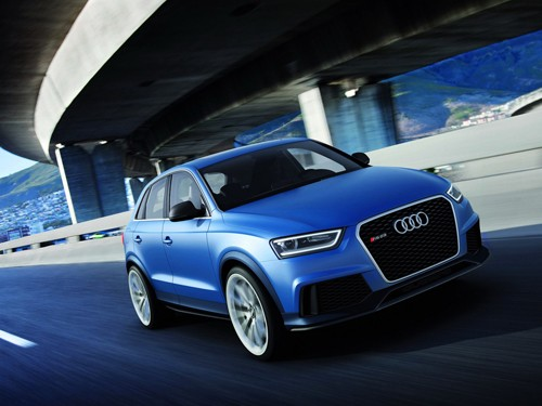 Audi đưa RS Q3 Concept tới Trung Quốc