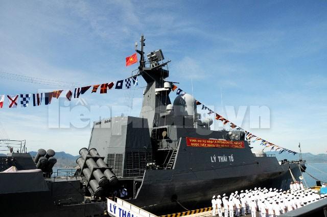 Khám phá uy lực chiến hạm Lý Thái Tổ