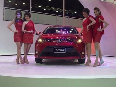Toyota Vios 2013 ra mắt tại Thái Lan