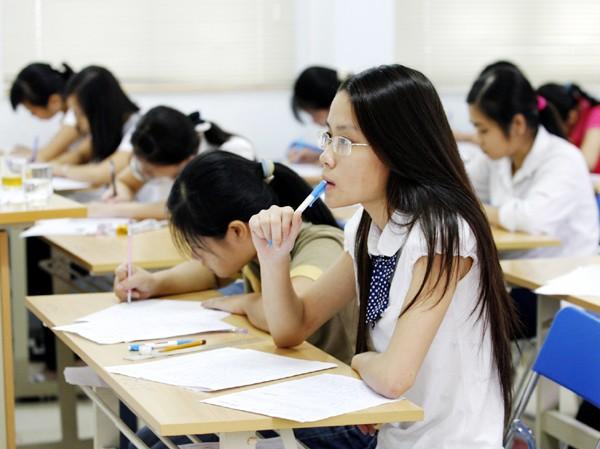 Theo ông Nguyễn Văn Nhã mục tiêu của ĐHQG và của nền giáo dục VN là đảm bảo chất lượng và hội nhập, chứ không phải tổ chức thi hay không tổ chức thi Ảnh: Hồng Vĩnh