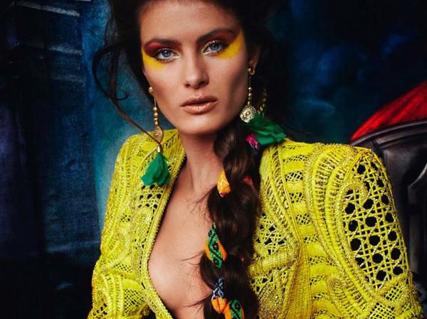 Bộ đôi siêu mẫu nóng bỏng trên Vogue Pháp
