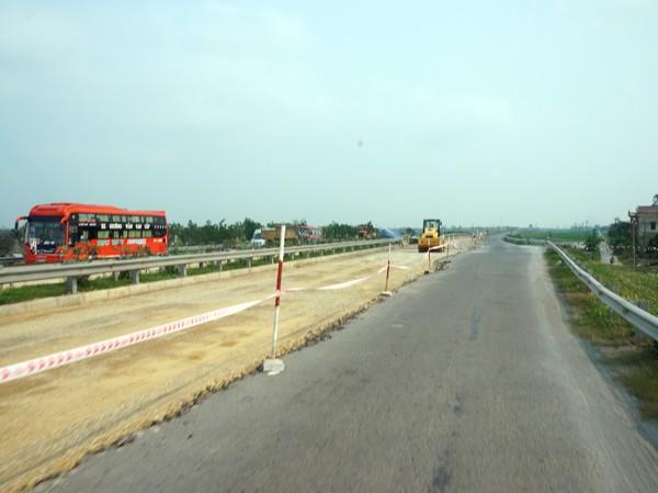 Quốc lộ 1 mở rộng, đoạn chạy qua địa bàn tỉnh Thanh Hóa