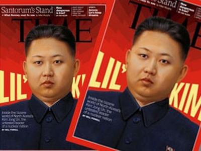 Đại tướng Kim Jong Un lên bìa tạp chí Time