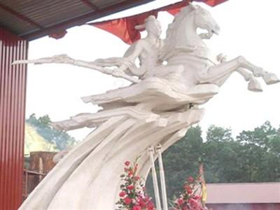 Phá mẫu tượng Thánh Dóng: 'Đã có ứng xử không văn hóa'