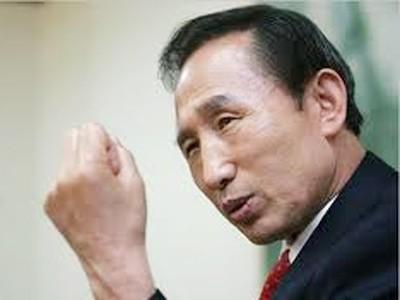 Tổng thống Hàn Quốc Lee Myung-bak Ảnh: AP