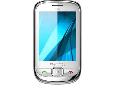 Q-mobile T26: Hòa cùng xu hướng cảm ứng