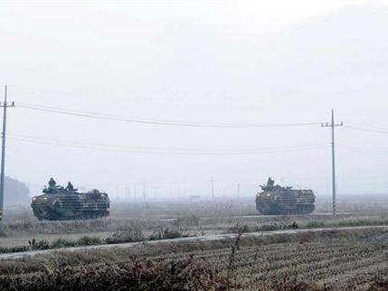 Hôm 11-3, Triều Tiên tiến hành tập trận tại một địa điểm bí mật