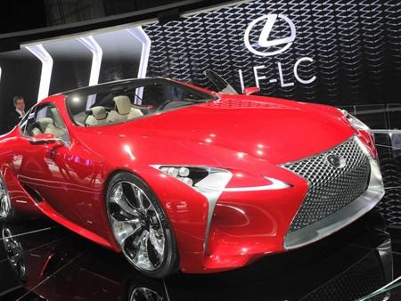 Lexus sẽ sản xuất đại trà 'quái thú' LF-LC