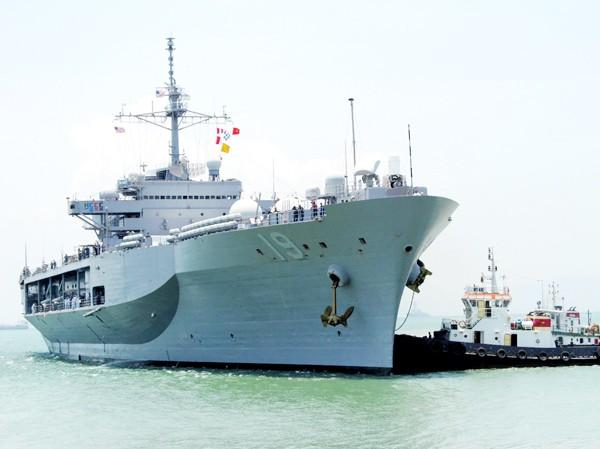 Hải quân Mỹ muốn nâng tầm huấn luyện với phía Việt Nam