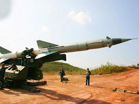 Tên lửa VN S-300 trong diễn tập bắn đạn thật
