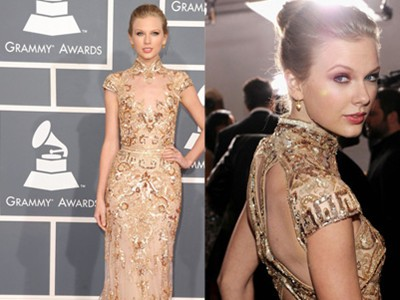 Những chiếc váy hàng hiệu tại lễ trao giải Grammy