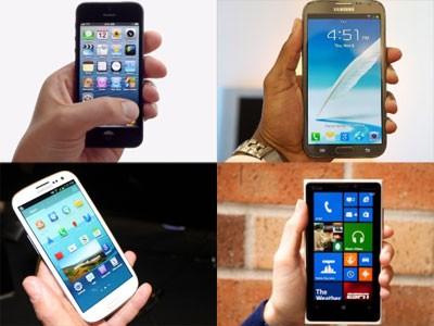5 smartphone cao cấp bán chạy nhất tháng 2