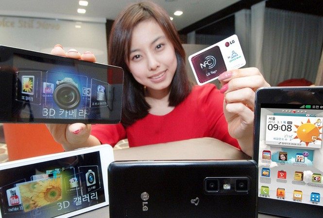 Cận cảnh 'siêu phẩm' 3D LG Optimus Cube