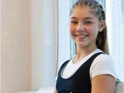Bé gái 13 tuổi nâng tạ nặng 110kg