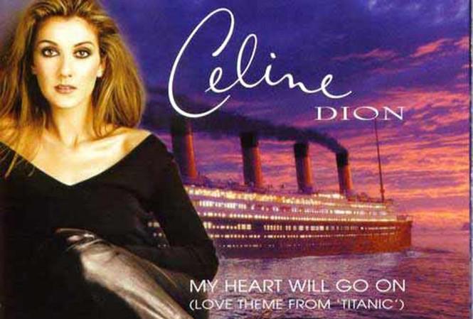 Celine Dion bất hủ với ca khúc My Heart Will Go On. Ảnh: Wordpress