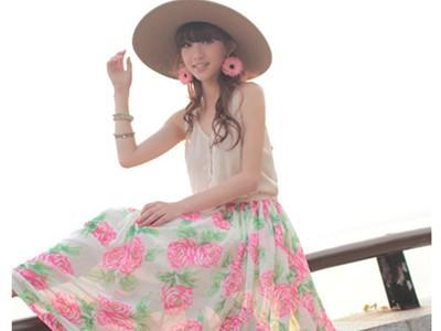 Váy maxi tung tăng đón nắng hè