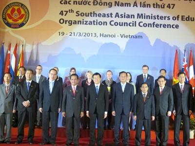 Khai mạc Hội nghị Hội đồng Bộ trưởng GD Đông Nam Á