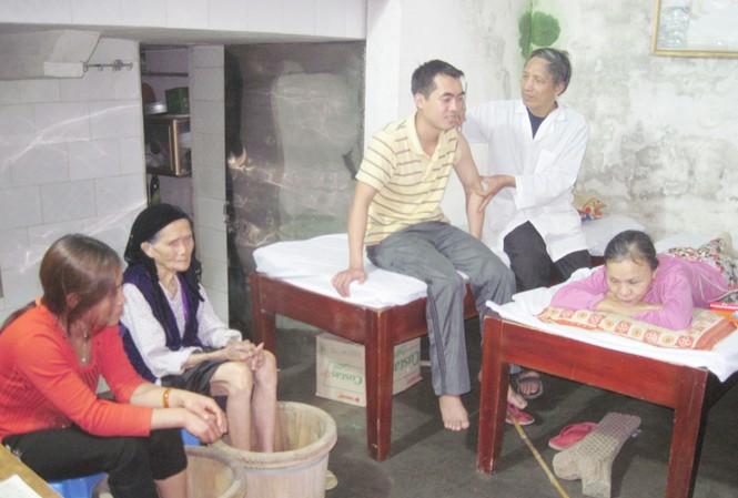 Phòng chẩn trị y học cổ truyền Vân Quang của Lương y Nguyễn Đức Quang, huyện Yên Mỹ, Hưng Yên