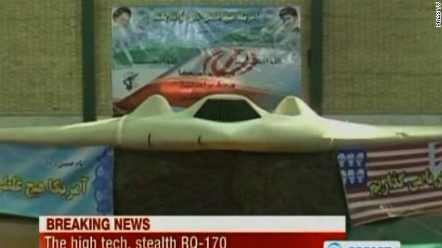 Chiếc máy bay không người lái bị Iran bắt giữ