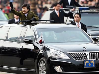 Khám limousine của nữ Tổng thống Hàn Quốc