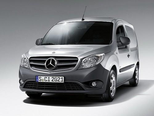 Lộ diện Citan van – Mercedes-Benz