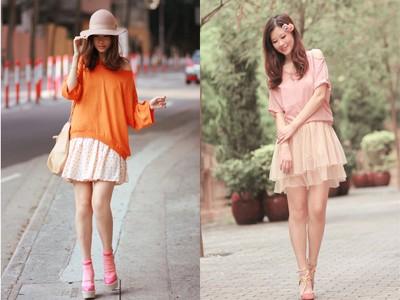Mix đồ chất như blogger thời trang Hồng Kông