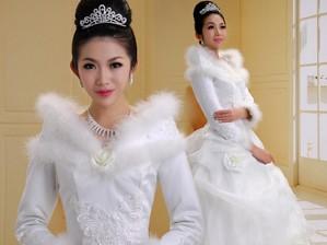 Mix trang phục cưới ngày đầu xuân