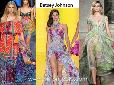 Xu hướng thời trang váy xuân hè năm 2012