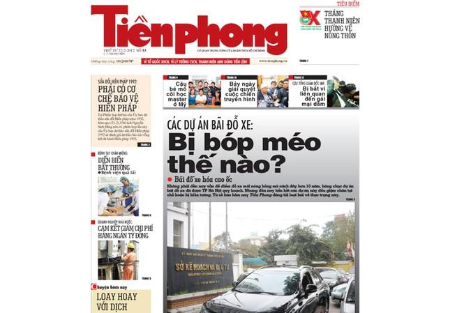 Tin bài hấp dẫn trên Tiền Phong ngày 22-2