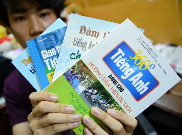 Sách dạy tiếng Anh cũng dịch từ Trung Quốc