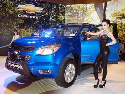 Cận cảnh Chevrolet Colorado LTZ