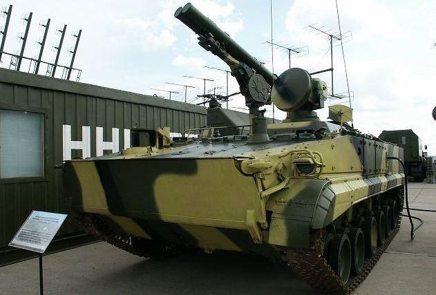 Nga tiếp nhận siêu tên lửa Khrizantema-S chống mọi loại tăng