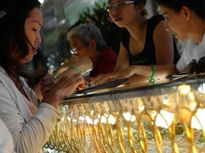 Giá vàng 'bốc hơi' 1,2 triệu đồng/lượng