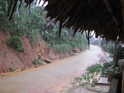 Liên tục xuất hiện mưa đá ở Thanh Hóa