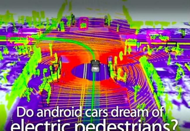 Nguyên lý hoạt động của xe không người lái Google