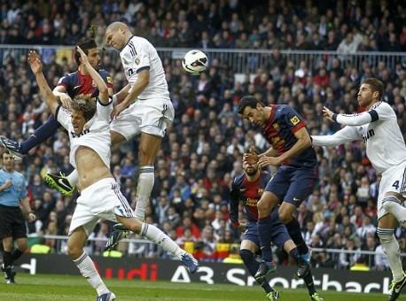 Barcelona lại bại trận trước Real Madrid
