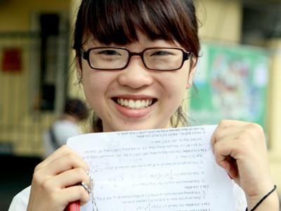 Gợi ý bài giải đề thi môn Tiếng Anh