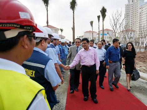 Phó tổng thống Myanmar thăm khu đô thị lớn nhất miền Bắc
