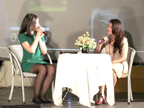 Nữ sinh Ngoại thương đạt giải MC vàng tiếng Anh 2013