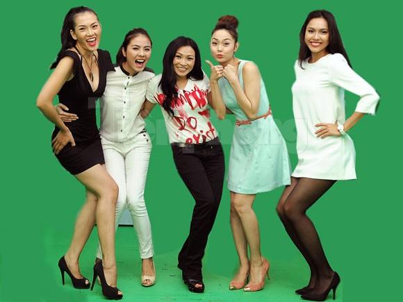 Ngắm kiều nữ của Bước Nhảy Hoàn Vũ 2012
