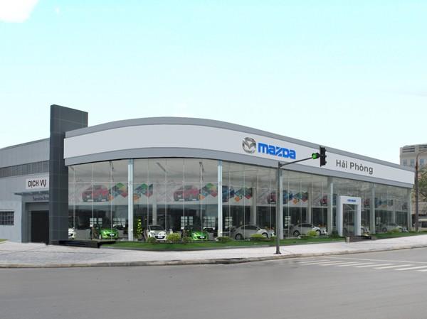 Vina Mazda ra mắt Showroom tại Hải Phòng