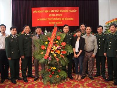 'Tiền Phong'  luôn đồng hành cùng người lính Biên phòng