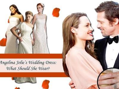 Angelina Jolie sẽ diện váy cưới nào?