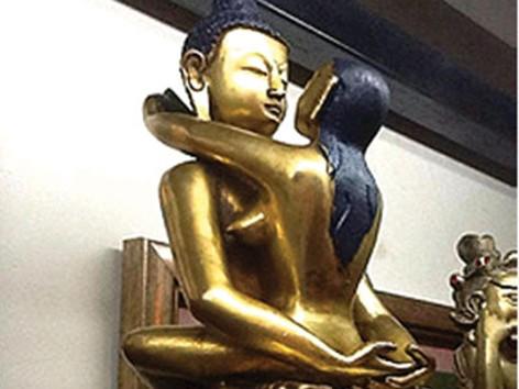 Truy tìm nguồn gốc tượng Phật 'sắc dục'