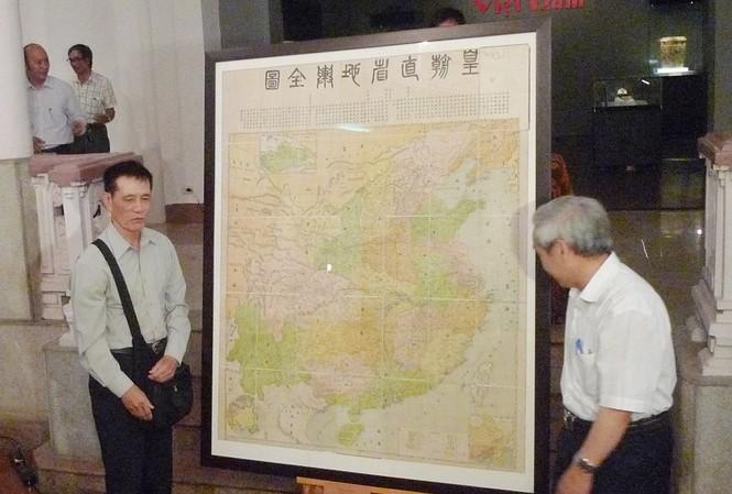 Bản đồ khẳng định Trường Sa, Hoàng Sa của Việt Nam