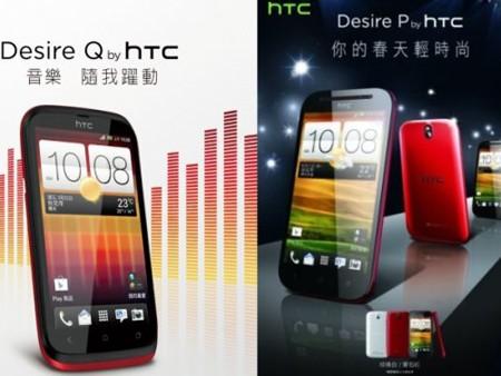Bộ đôi smartphone tầm trung của HTC lộ diện